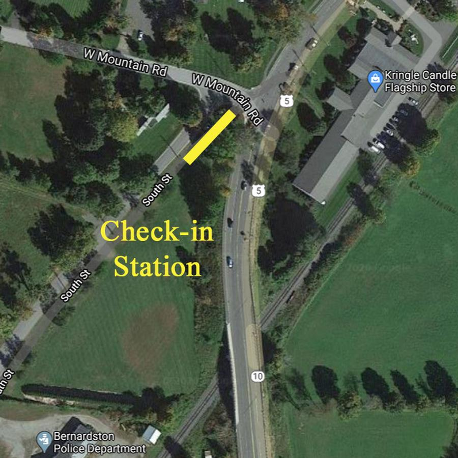 map of check in station